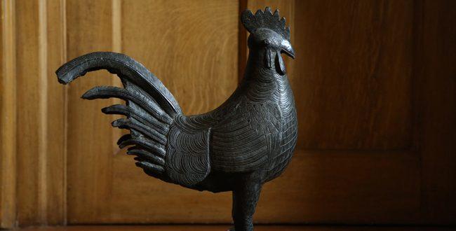 Cambridge University Returns Looted Benin Bronze Artefact 'Okukor' To Nigeria